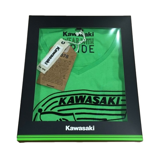 25 boîtes à cadeau (petit modèle) Kawasaki | Réf. 019CMD0280