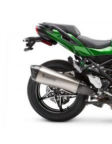 Échappement Akrapovic titane sport Kawasaki Ninja H2 SX (2018-2020) | Réf. 258EXP0089