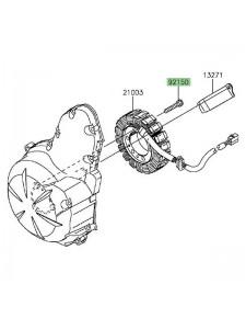 Vis M6x30 pour fixation alternateur Kawasaki Versys 650 (2015-2020) | Réf. 921501433