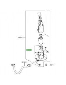 Kit filtre à essence Kawasaki Versys 650 (2015-2020) | Réf. 999990525