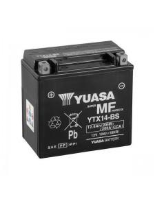 Batterie Yuasa YTX14-BS moto Kawasaki