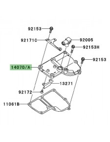 Carter de reniflard d'huile Kawasaki GTR 1400 (2008-2009) | Réf. 140700003 - 140700004