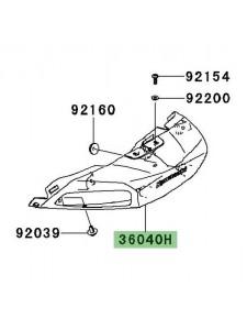 Entourage clignotants arrière Kawasaki GTR 1400 (2008-2016) | Réf. 360400060