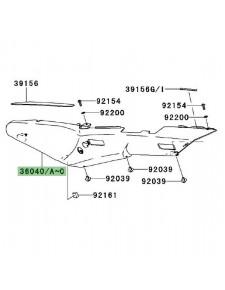 Coque arrière gauche peinte Kawasaki GTR 1400 (2008-2009) | Moto Shop 35