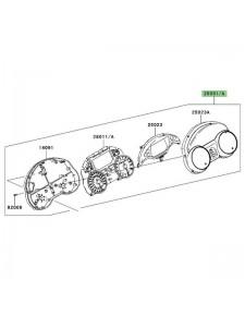 Bloc compteur Kawasaki GTR 1400 (2008-2009) | Réf. 230310197