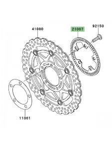 Cible ABS avant Kawasaki GTR 1400 (2008-2009) | Réf. 210070068