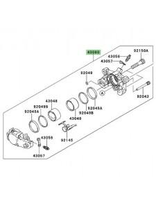 Étrier de frein arrière Kawasaki GTR 1400 (2008-2009) | Réf. 430800040DJ