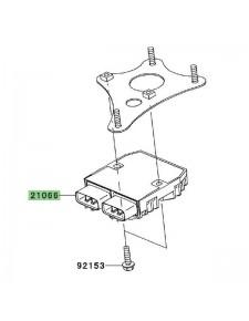 Régulateur de tension d'origine Kawasaki 210660771 | Moto Shop 35