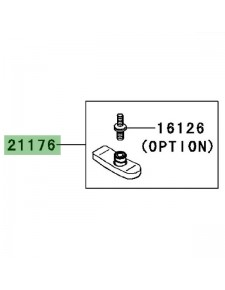 Capteur de pression TPMS Kawasaki GTR 1400 (2008-2009) | Réf. 211760106