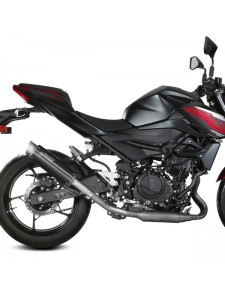 Silencieux MIVV GP Pro Inox Noir Kawasaki Z400 (2019-2020) | Réf. K.047.LXBP