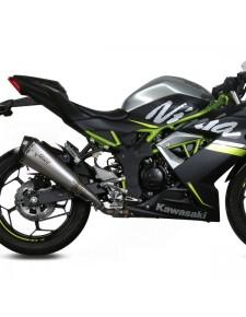 Silencieux MIVV Delta Race Inox Kawasaki Ninja 125 (2019-2020) | Réf. K.048.LDRX