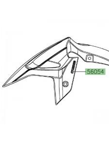 "Autocollant ""ABS"" garde-boue avant Kawasaki Ninja 400 (2018-2020) | Moto Shop 35"