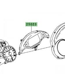 Intérieur de compteur Kawasaki GTR 1400 (2010-2016) | Réf. 250230021 - 250230039
