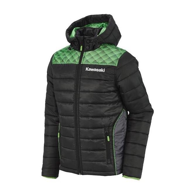 Blouson hiver Kawasaki Sports 2020 - 3/4 avant | Moto Shop 35