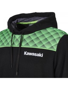 Sweat à capuche Kawasaki Sports 2020 - Détail | Moto Shop 35