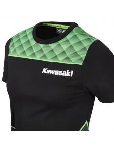 T-shirt femme Kawasaki Sports 2020 - Détail | Moto Shop 35