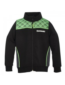 Sweat-Shirt zippé enfant Kawasaki Sports 2020 - Devant | Moto Shop 35