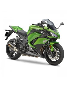 Pack Performance Kawasaki Z1000SX Vert Candy Lime Green / Gris Metallic Carbon (2017)