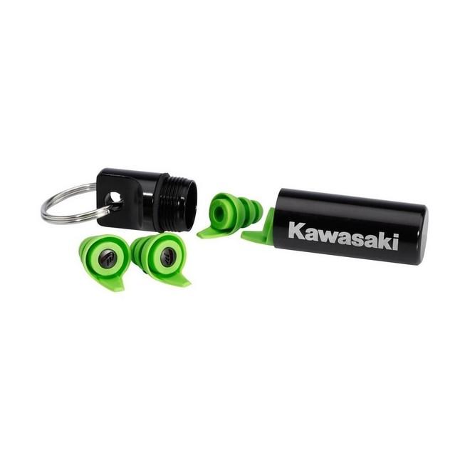 Bouchons d'oreilles réutilisables Kawasaki | Réf. 063RGS0016