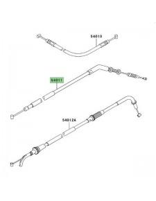 Câble d'embrayage Kawasaki Z1000 (2004-2009) | Réf. 540111424