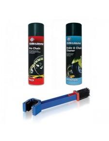 Pack nettoyage/graissage kit chaîne | Moto Shop 35