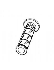 Poignée caoutchouc gauche d'origine Kawasaki 460750564 | Moto Shop 35