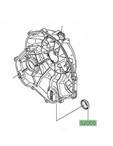 Hublot niveau d'huile Kawasaki 520050071 | Moto Shop 35