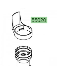 Protection de fourche Kawasaki 550200872   Moto Shop 35