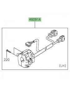 Commodo gauche Kawasaki 460910489