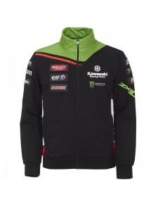 Sweat zippé homme Kawasaki WorldSBK 2021 (S à 4XL) | Moto Shop 35