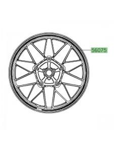 Liseré de jante Kawasaki Z900RS gris (2020) | Réf. 560751055