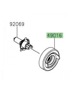 Obturateur caoutchouc optique avant Kawasaki 490160628 | Moto Shop 35