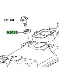 Joint de vis cache culbuteur Kawasaki 920550143 | Moto Shop 35