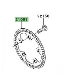 Cible ABS avant Kawasaki 210070068 | Moto Shop 35