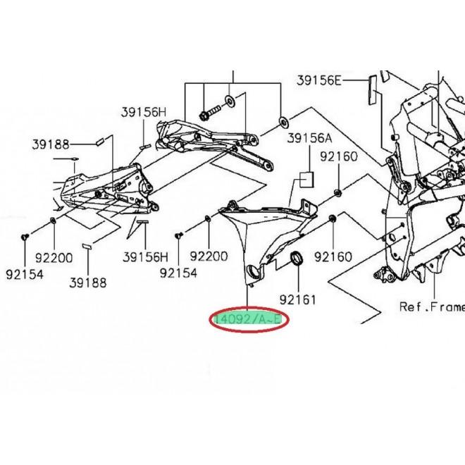 cache pivot gauche Z800 140920962660