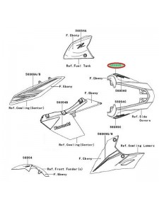 PATTERN TAIL COVER RH