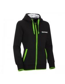 Sweat zippé à capuche femme Kawasaki | Devant