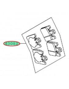 PLAQUETTES FREIN AVANT ZX10R 430820031