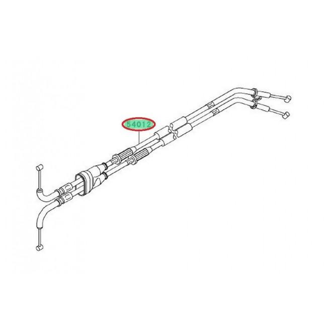 CABLES DE GAZ DOUBLE ZX10R 540120165
