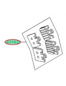 PLAQUETTES FREIN AVANT ZX10R 430820058