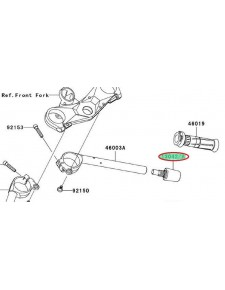 EMBOUT GUIDON ZX10R 130420031