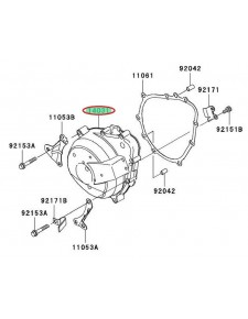 CARTER ALTERNATEUR GAUCHE ZX6R 140310032