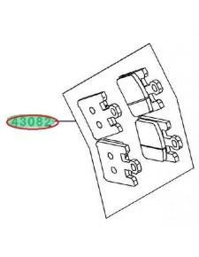 PLAQUETTES FREIN AVANT ZX6R 636 430820037