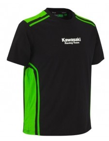 T-Shirt homme Kawasaki Racing Team | Devant