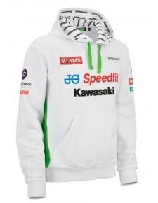 Sweat-shirt à capuche homme Kawasaki BSB Replica | Devant