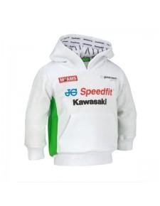 Sweat à capuche enfant Kawasaki BSB Replica | Devant