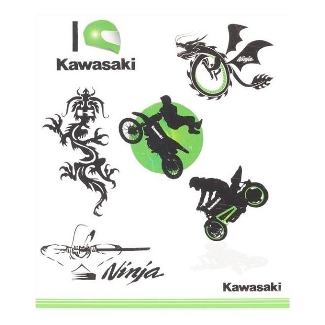 Kit tatouages enfant Kawasaki | Réf. 226SPM0017