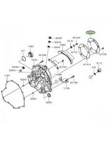 COUVERCLE EMBRAYAGE VULCAN S 560541832