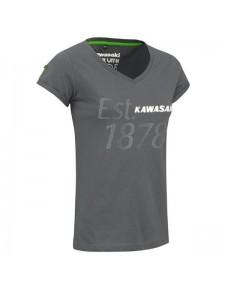 "T-Shirt femme Kawasaki ""Est. 1878"" | Devant"