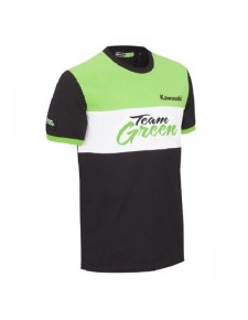 T-Shirt homme Kawasaki Team Green | Devant